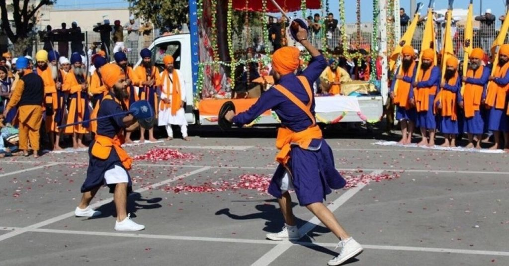 arts martiaux originaires de l'Inde: Gatka